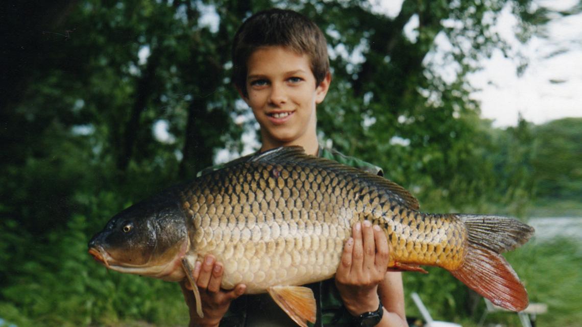Táta mě naučil rybařit