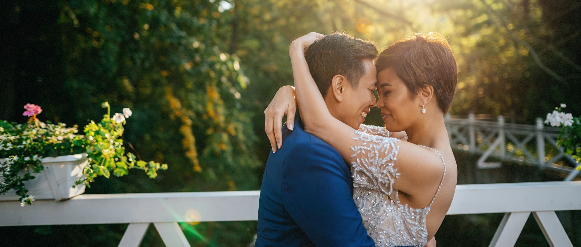 Emotional same-sex Philippino wedding in Prague / Colleen + Sia