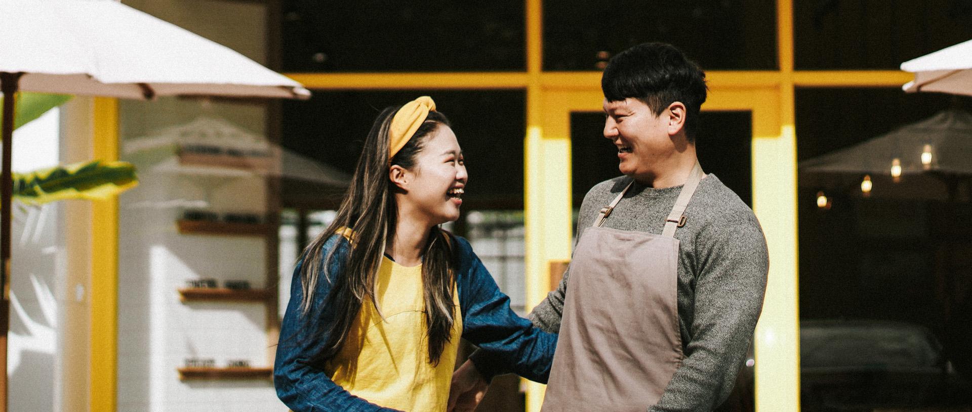 Taiwanské lovestory páru Silvia a EJ